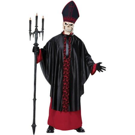 Salem Mass Halloween Costumes (Black Mass Men's Adult Halloween)