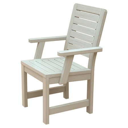 Counter Height Arm Chairs : ... ? Weatherly Recycled Plastic Counter Height Arm Chair - Walmart.com