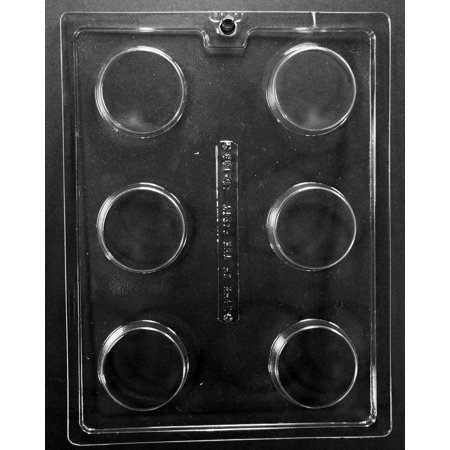 Thomas Cake Mold (Cookie Chocolate Mold - Round - AO138 - Includes National Cake Supply Melting & Chocolate Molding)