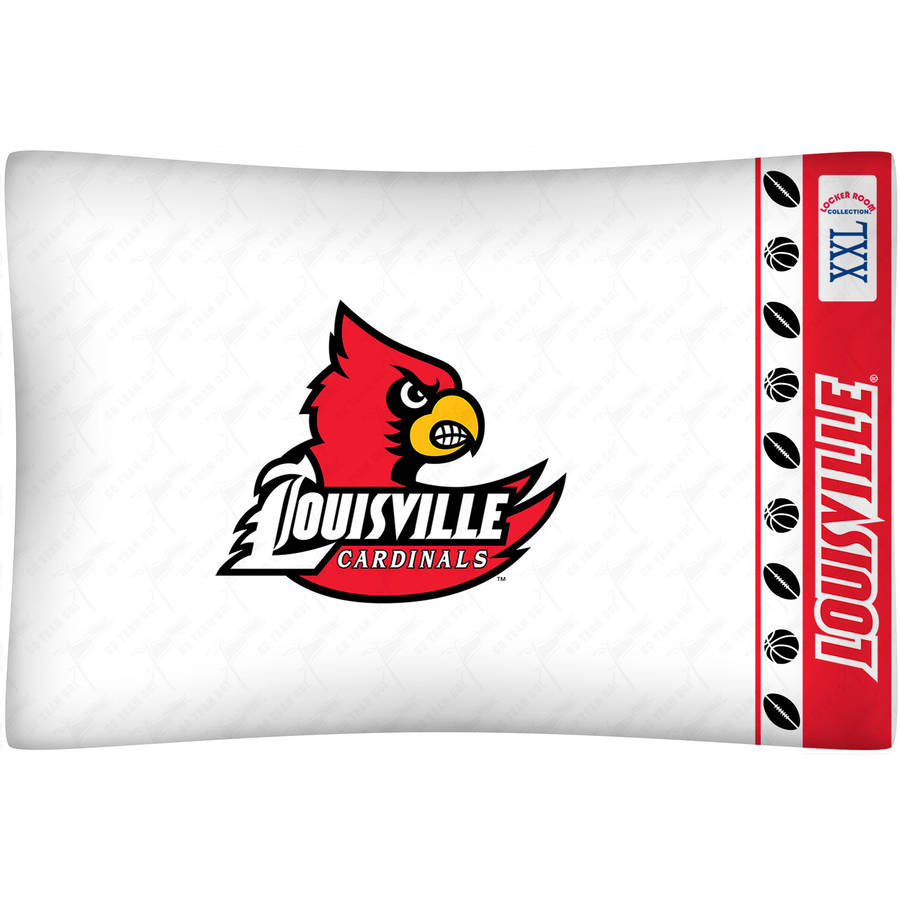 NCAA University of Louisville Micro Fiber Pillow Case