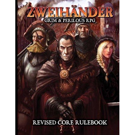 ZWEIHANDER Grim & Perilous RPG : Revised Core (The Best Turn Based Rpg Games)