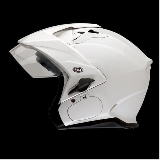 Bell Mag-9 Solid Helmet Pearl White
