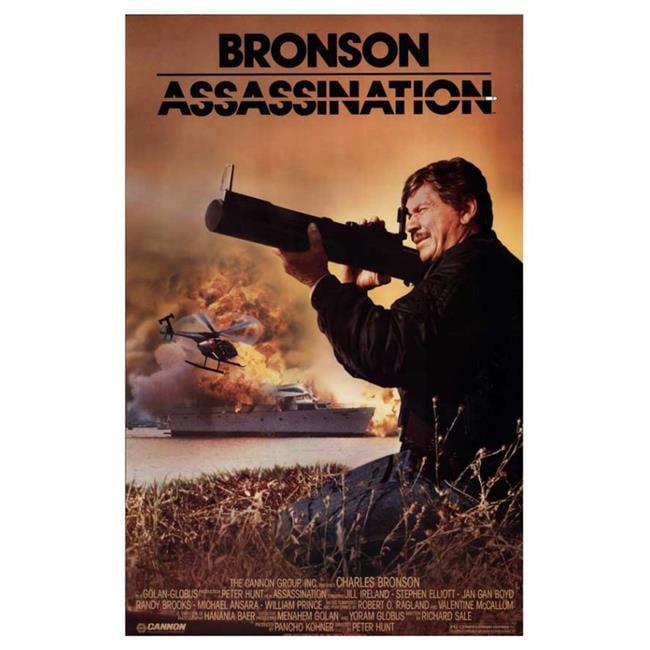 Posterazzi MOVAJ8822 Bronson Assassination Movie Poster - 27 x 40 in. - image 1 de 1