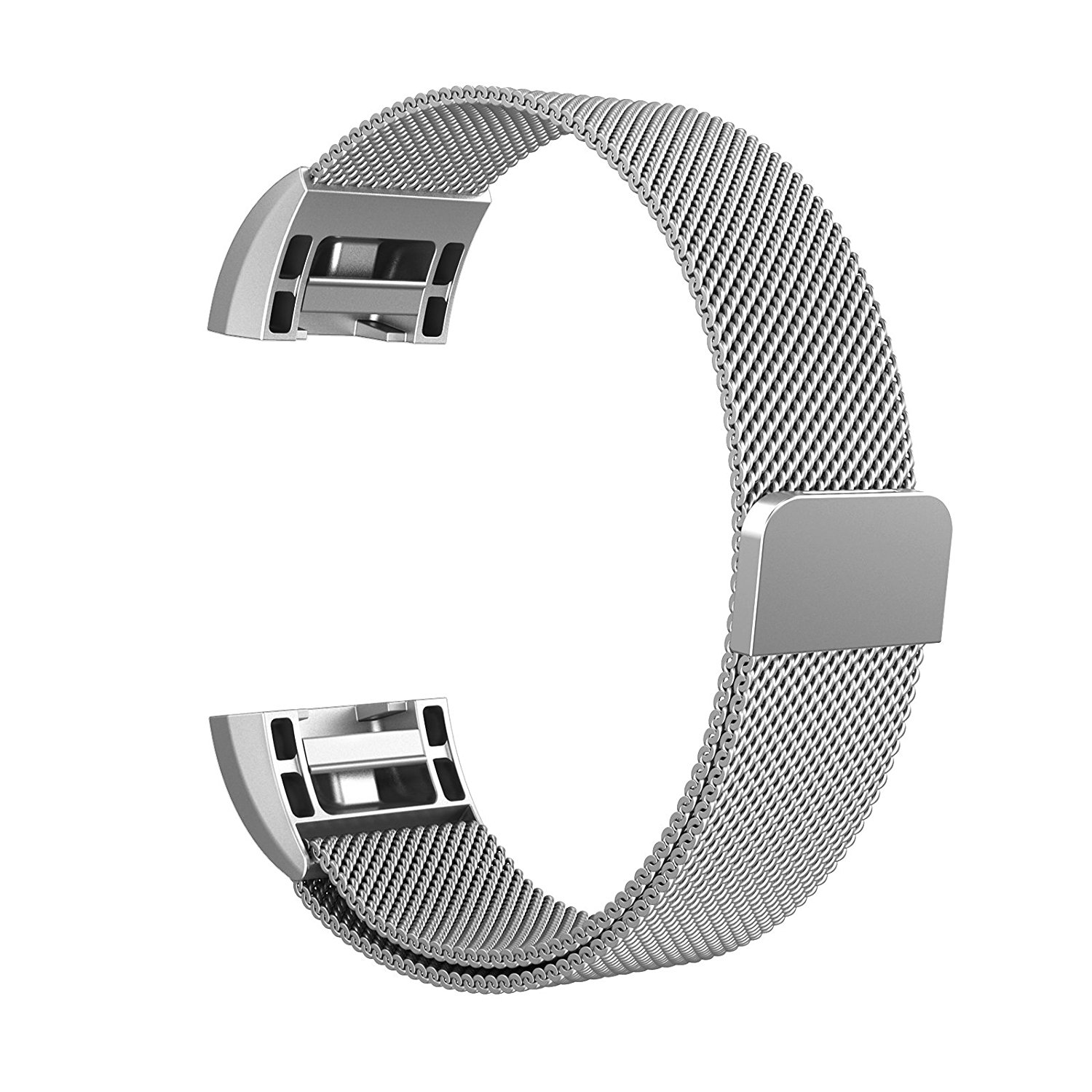 Fitbit Charge 2 Bands Metal, Winner Outfitters Milanese Loop Stainless Steel Replacement Accessories