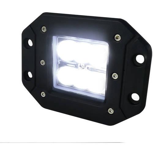 "Spec-D Tuning 3"" Cree LED Work Light Square, Spot Beam Pattern"