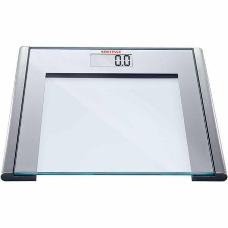 Soehnle Silver Sense Precision Digital Bathroom Scale 330