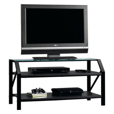 Sauder Beginnings Panel TV Stand - Black