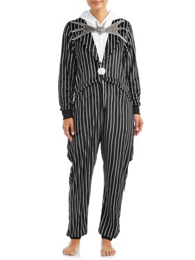 Disney Women's and Women's Plus Jack Skellington Unionsuit