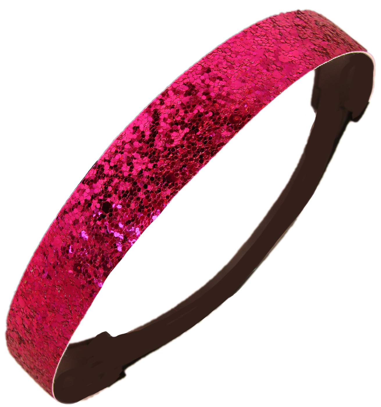 Kenz Laurenz Glitter Headband Girls Headband Sparkly Hair Head Band Pink