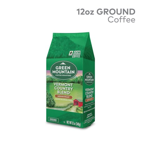 Green Mountain Coffee Roasters, Vermont Country Blend, Medium Roast, Bagged 12oz