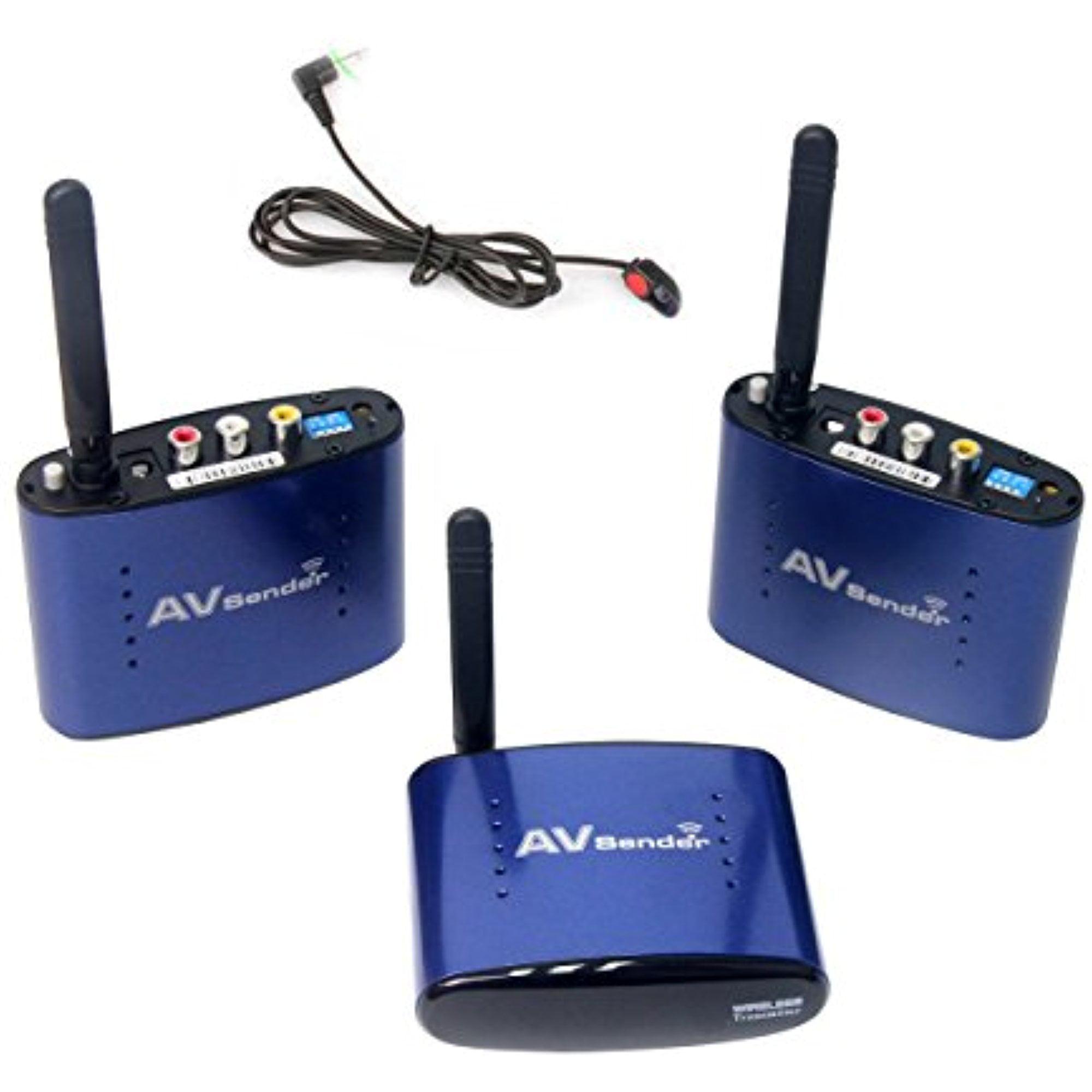 Signstek Pat-530 5.8GHz Wireless AV Sender Transmitter 2 ...