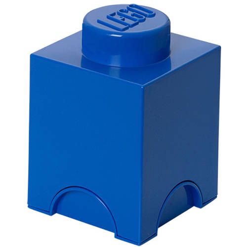 LEGO Storage Brick 1, Bright Blue