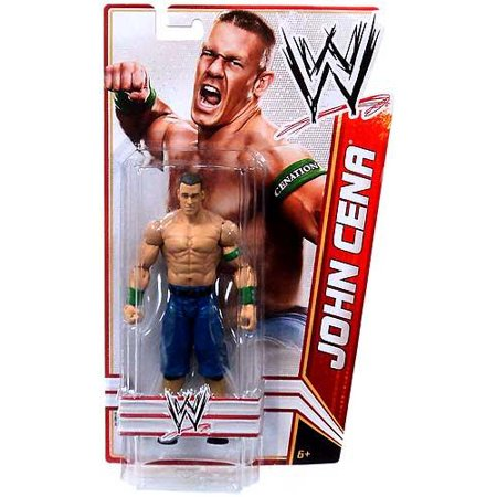 Wwe Wrestling Signature Series 2012 John Cena Action Figure  Tall Package