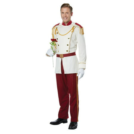 Mens Royal Storybook Prince Disney Costume - Mens Disney Costume
