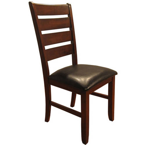 Primo International Alexis Dining Chair, Set of 2, Dark Oak
