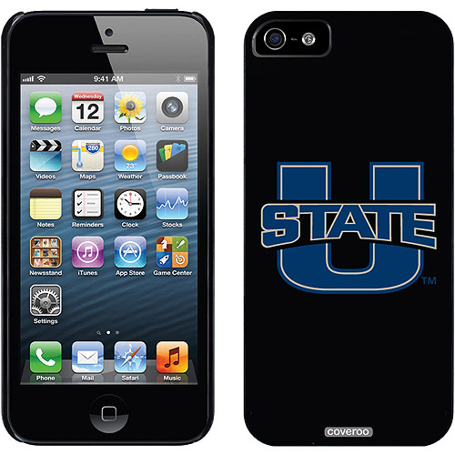 Utah State University U State Design on Apple iPhone 5/5SE/5s Thinshield Snap-On Case by Coveroo