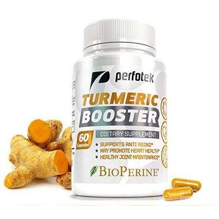 Turmeric Curcumin With Bioperine Anti Inflammatory By Perfotek  Antioxidant   Anti Aging Supplement With 10 Mg Of Black Pepper