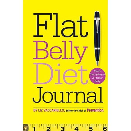 Flat Belly Diet! Journal : Write Your Way to a Flatter