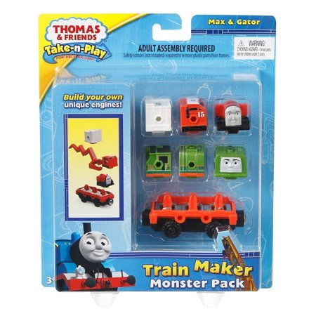Thomas The Train Gifts (Fisher-Price Thomas The Train Take-n-Play Engine Monster PackA great gift for Thomas fans! By)