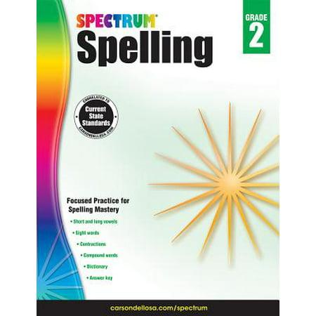 Spectrum Spelling, Grade 2](Halloween Spelling Words Grade 6)