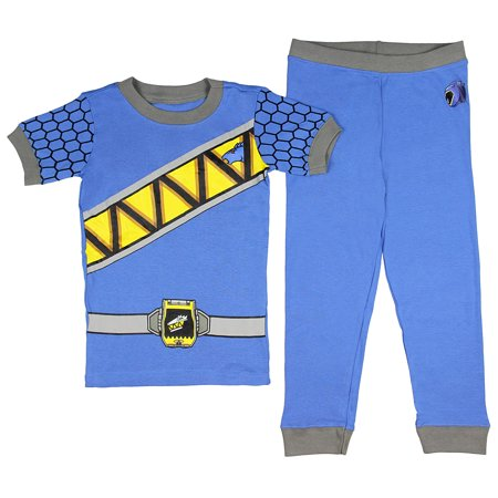 Intimo Saban's Power Rangers Dino Force Boys' Costume Pajama Set - Runs Small (Girls Power Ranger)