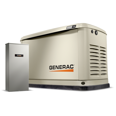 generac guardian series 11 10kw air cooled standby generator with wi
