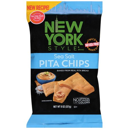 New York Style Pita Chips, Sea Salt (1 Pack)