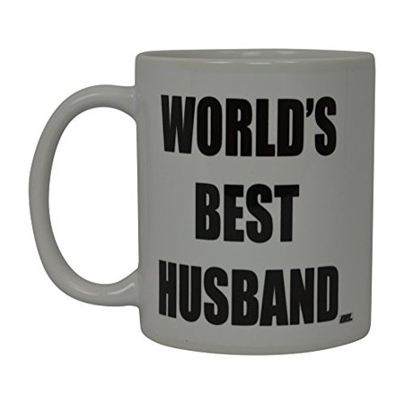 Best Funny Coffee Mug World's Best Husband Novelty Cup Wife Great Gift Idea For Men or Women Married Couple Spouse Lover Or Partner (World's Best) - Best Couple Ideas For Halloween