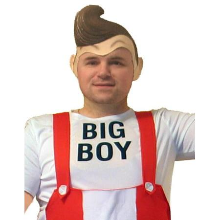 Big Boy Deluxe Adult Cartoon Latex Costume Wig](Latex Wig)