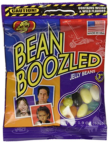 Jelly Belly BeanBoozled Jelly Beans, 1.9 Oz Bag (Pack of 6) by