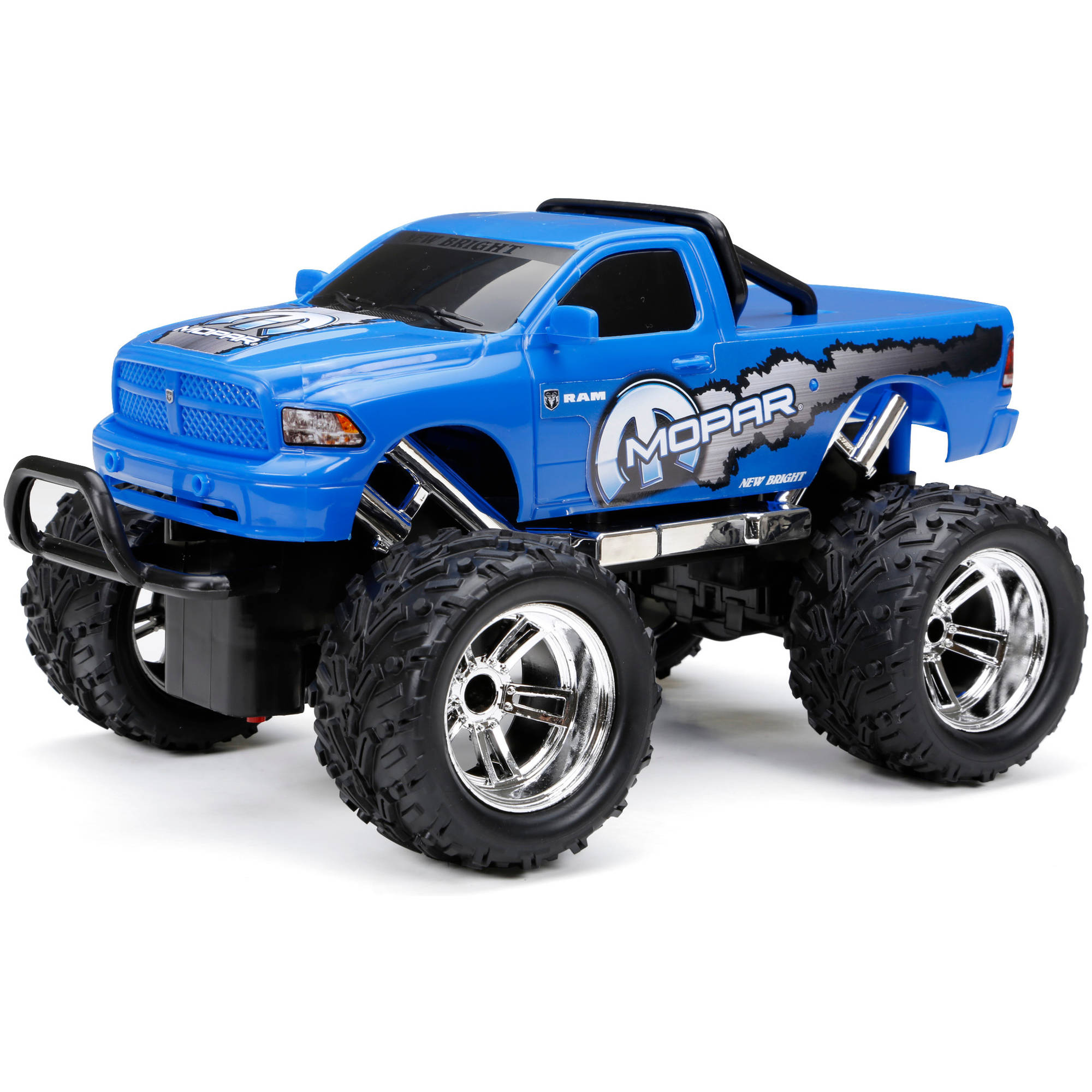 New Bright 1:16 Radio-Control Full-Function Ram Truck, Red