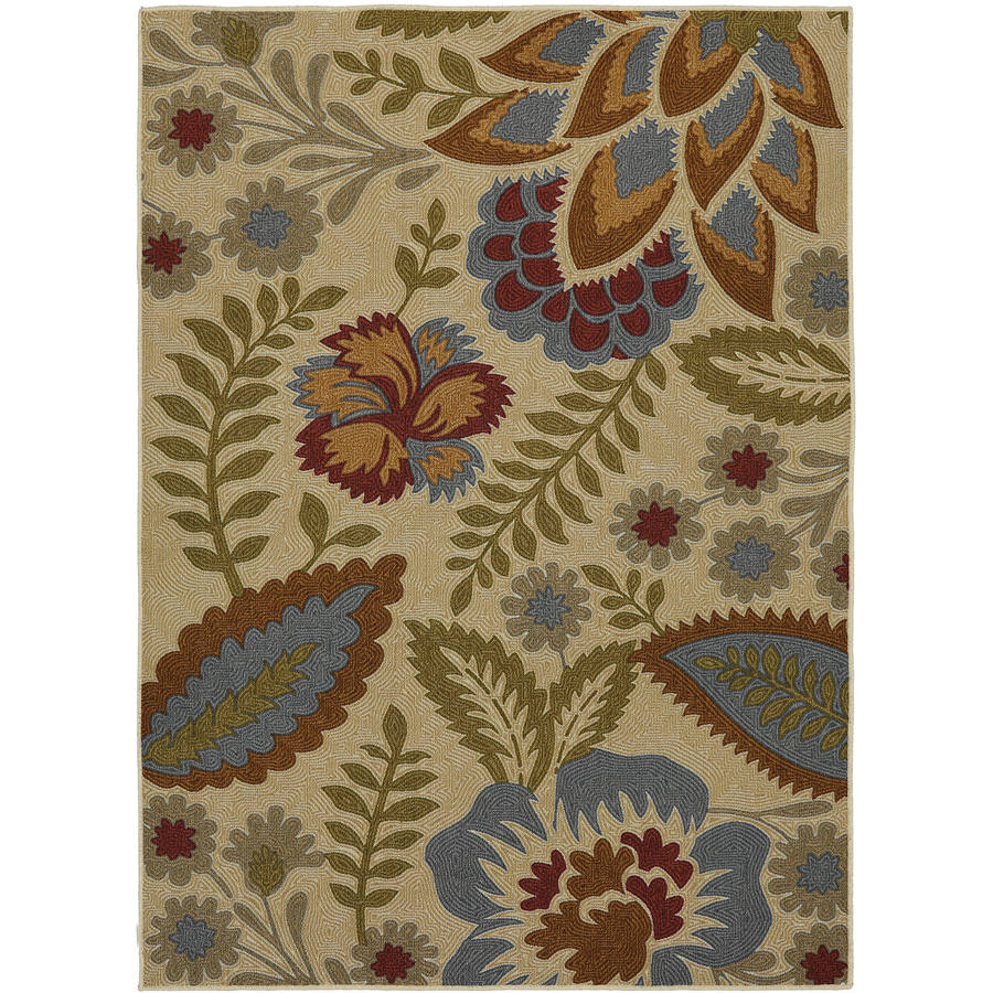 Mohawk Home Crewel Floral Area Rug by Mohawk Home