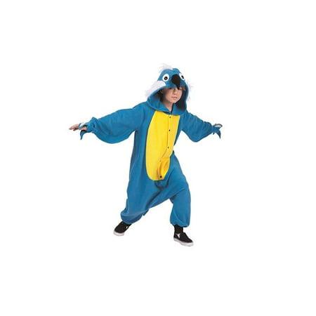 Pepper Parrot Child Funsie Costume - Medium](Pierrot Costume)