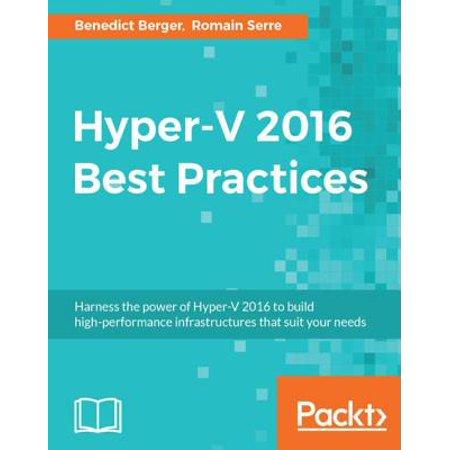 Hyper-V 2016 Best Practices - eBook