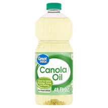Cooking Oils: Great Value Canola Oil