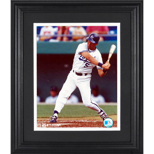 MLB - George Brett Kansas City Royals Framed Unsigned 8x10 Photograph