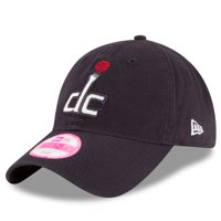 Washington Wizards New Era Women's Team Glisten 9TWENTY Adjustable Hat - Navy - OSFA