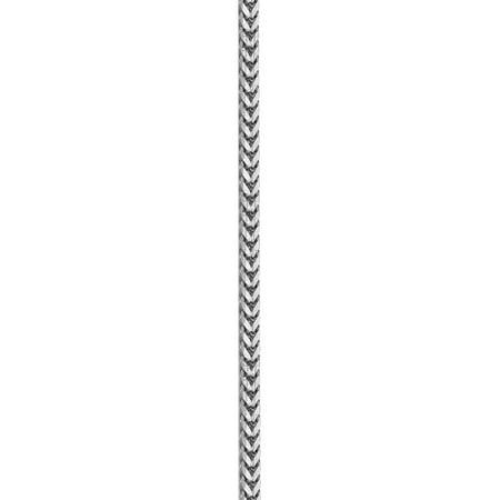 14k White Gold WG 2.5mm Franco Chain - image 1 of 4