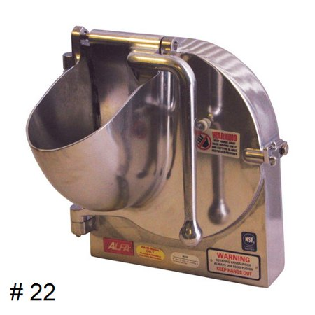 Grater Attachment - Complete Grater/Shredder Attachment w/ 1 Disc of your choice (for #22 Hub) OEM # VS9-22