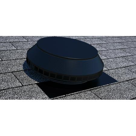 (Active Ventilation, Pop Vent, 14 in. diameter, Alumnum, Powder Coated Black, PV-14-C1-BL)