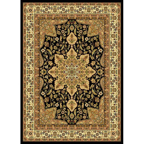 Home Dynamix Royatly Black Area Rug