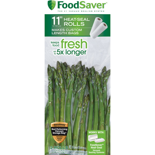 FoodSaver 11 in x 16 ft Roll, 2-Pack