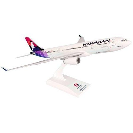 Daron Skymarks Hawaiian A330-200 Airplane Model Building Kit, 1/200-Scale