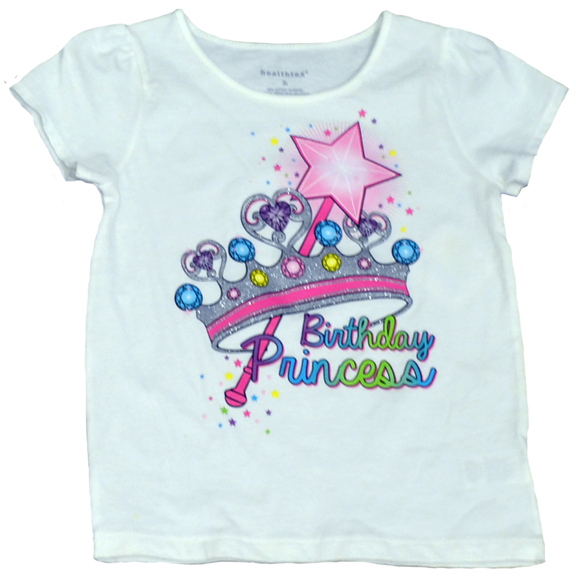 Baby Toddler Girl Birthday Graphic Tee