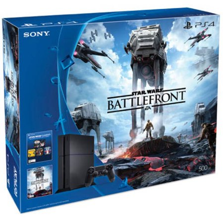 Refurbished Sony 3001356 PS4 Star Wars: Battlefront Standard Edition 500GB Console Bundle ...