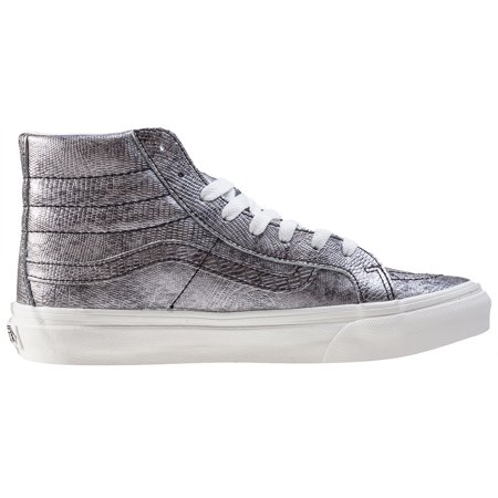 a068c0f88d5c2f Vans - Vans Womens Sk8 Hi Slim Canvas Hight Top Lace Up Fashion Sneakers -  Walmart.com