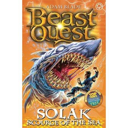 Beast Quest: 67: Solak Scourge of the Sea (Sea Quest Adam Blade)