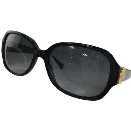 cc95e74568123 Coach - Coach HC 8015 5002 T3 Black Plastic Sunglasses 58mm - Walmart.com