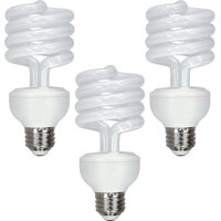 GE Energy Smart CFL 3-way 13/19/26-Watt (100-watt replacement) T3 Spiral Light Bulb with Medium Base (3 Pack)