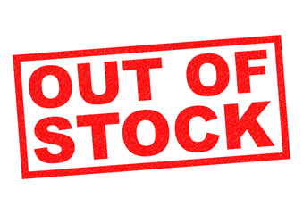 Image result for out of stock""